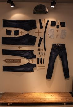 Easy denim equation at Blue Jeans Company in Hornstull, Stockholm
