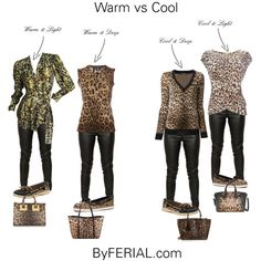 Anyone and everyone can wear Leopard pattern. However you need to make sure you select the correct temperature Cool vs Warm.