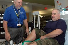 Mentors help patients with rehab and offer insider tips along the way #CMIEvo
