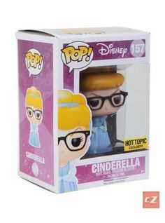 Funko Pop! Disney: Hipster Cinderella #157 Hot Topic Exclusive *New In Box*