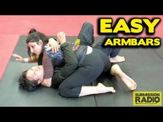How to do 2 Easy Armbars from Side control - YouTube