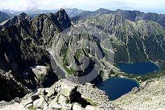 Lake in the mountains Poland