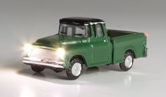 Green Pickup - N Scale - Just Plug® Lighting System - Woodland Scenics - Model Layouts, Scenery, Buildings and Figures Marketing Automation, N Scale, Led Headlights, Lighting System, Pick Up, Plugs, Woodland, Layouts, Buildings