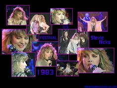 a great collage of Stevie  ~ ☆♥❤♥☆ ~   photos, from 1983 ~ from her 'The Wild Heart' album which was released on June 10th, 1983   ~    https://en.wikipedia.org/wiki/The_Wild_Heart_(album)