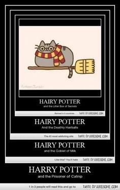 Hairy Potter. Ha!