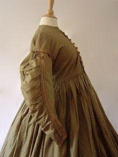Maternity Wrapper, circa 1850s