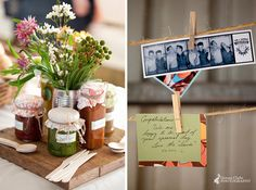 Was planning on using baler twine for bunting already--love the idea of adding clothespins with pictures/notes!!!