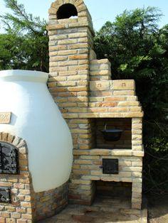 Kemax - Kecskeméti búboskemence grillezővel Outside Fireplace, Brick Ovens, Smokers, Bookcase, Bbq, Gardening, Home Decor, Oven, Pizza