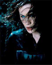 """"""" Kate Beckinsale as Selene in Underworld: Evolution """" Underworld Kate Beckinsale, Kate Beckinsale Hair, Underworld Werewolf, Underworld Movies, Vampire Kiss, Vampire Art, Underworld Selene, Hannah Hart, Rhona Mitra"""
