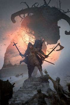 Symbaroum RPG: Thistle Hold - Wrath of the Warden: The Chronicle of the Throne of Thorns, Chapter One (Image: Järnringen)