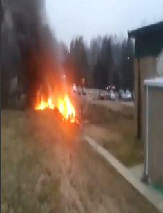 Raw Footage: Tennessee Plane Crash With 4 On Board Near YMCA Nashville, No Survivors  (Video)