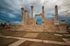 Laodicea on the Lycus (Greek: Λαοδίκεια πρός τοῦ Λύκου; Latin: Laodicea ad Lycum, also transliterated as Laodiceia or Laodikeia, earlier known as Diospolis and Rhoas; modern Turkish: Laodikya) was the ancient metropolis of Phrygia Pacatiana (also attributed to Caria and Lydia), built on the river Lycus (Çürüksu), in Anatolia near the modern village of Eskihisar (Eski Hissar), Denizli Province, Turkey. Ancient Ruins, Ancient History, Turkey Photos, Pamukkale, Historical Landmarks, 1st Century, Alexander The Great, Holy Land, Best Location