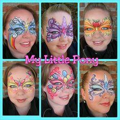 Its everyponies design: Rainbow Dash, Twilight Sparkle, Applejack, Fluttershy, Pinkie Pie & Rarity # - whittyann_art