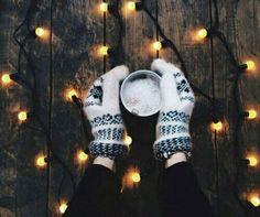 winter, light, and christmas image