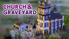 Welcome to more horror builds in ! We need so many more spooky scary builds with an eerie feel. Sims is too family friendly sometimes and . Sims 3 Houses Ideas, Sims 4 Houses, Sims Ideas, House Ideas, Sims Building, Building Ideas, Sims House Plans, Spooky Scary, The Sims4