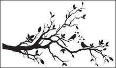 tree bird love