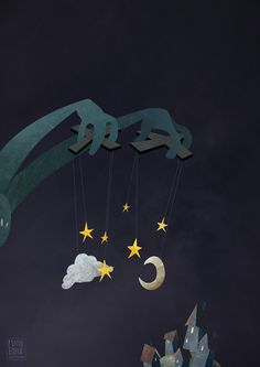 The Night Puppeteer by Mark Bird