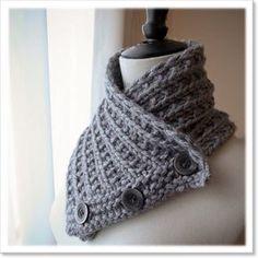 Men collar #knitting
