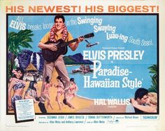 Elvis Presley movie posters | ... - Elvis Presley Original Paradise - Hawaiian Style Movie Poster