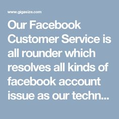 Our Facebook Customer Service is all rounder which resolves all kinds of facebook account issue as our technicians are multi-talented and expert in eliminating all technical issues. We provide both technical and non-technical service to users via our toll-free number 1-850-361-8504. So, please dial this number and utilize free service. For more information visit our official website http://www.monktech.net/facebook-customer-support-phone-number.html