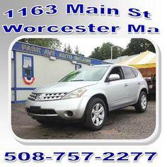 2007 Nissan Murano. #ParkAveAutoInc ##AutoSales #Dealership #Worcester #MA #Used #Preowned #Cars #Trucks #SUVs #Minivans #Nissan #Murano