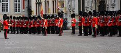 http://500px.com/photo/189598299 ON PARADE by magdaindigo -In The Royal Guild of St Sebastian of Bruges in 1656 the exiled future British King Charles II created the Grenadier Guards (and in 1658 the Life Guards) to be his personal bodyguards and defend his allies in the Low Countries from French invasion.  After helping to restore the monarchy in Britain in 1660 these British Troops have gone on to fight with distinction against oppression on Belgian soil for centuries most notably at…