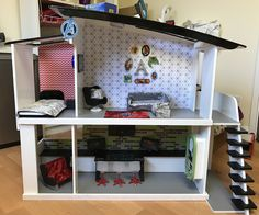 Avengers HQ doll house #barbiehousemakeover