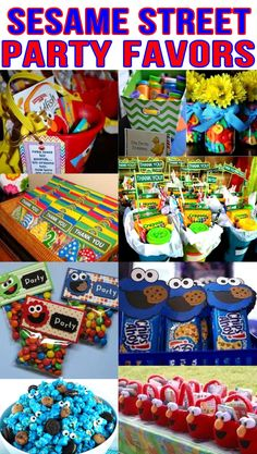 Check out the coolest sesame street birthday party favors for kids. Fun, easy and exciting sesame street party favors from treats to toys for your special occasion. All the children will enjoy these ideal sesame street gifts for a thank you. Elmo First Birthday, Boys 1st Birthday Party Ideas, Birthday Party Favors, First Birthday Parties, First Birthdays, Sesame Street Party, Sesame Street Birthday Party Ideas, Sesame Street Crafts, Sesame Street Food