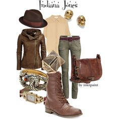 """""""Indiana Jones"""" by inknpaint on Polyvore"""