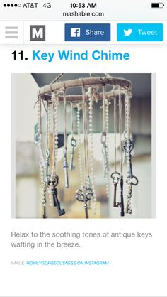 Key windchime
