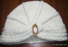 МК: Теплая чалма (тюрбан) спицами / вязание спицами модели и схемы бесплатно