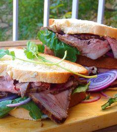 Las recetas que me gustan: Sandwich de Roast Beef