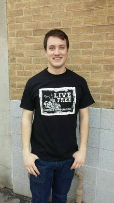 Men's T-shirt black- Short sleeve - spring style fashion @ Black Bear Trading Asheville N.C.