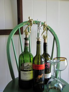 The Painted Home: recycled trophy bottle corks