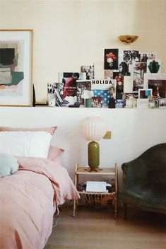 Morgane Sézalory shows us around her super stylish and kid-friendly Parisian home.