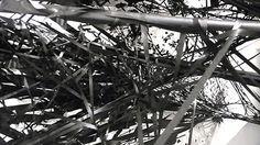 Violent tape installations by Monica Grzymala