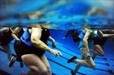 Deep Water Exercises easy on the joints.