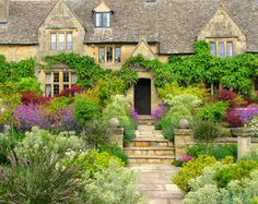 landscapelifescape: Cottage, Cotswold, England The Marvelous Month of May (by Sandra Leidholdt)