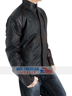 Black Friday! Captain America Sebastin Stan Bucky Barnes Jacket is now on Sale at NewAmericanJackets Store with easy Exchange and returns Guarantee.  For More Detail Visit: >   #CaptainAmerica #SebastinStan #Bucky #BuckyBarnes #Jacket #BlackFriday #onSale #BlackFridaySale #Black #GivingTuesday #charity #handmade #holidayssavings #ThanksgivingAds #CheepTweet #gentleman #gentlemanstyle #moda #fashionmiami #Gaming #bikers #costume #boysFashion #shoppingseason