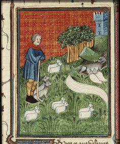 The herdsman Faustulus discovers Romulus and Remus