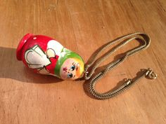 Small Nesting Doll Necklace