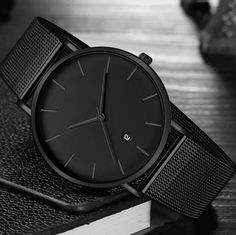 Black Wrist Watch Men Watches Male Business Style Wristwatches Stainless Steel Quartz Watch For Men Clock Reloges With Calendar - Black Wrist Watch Men Watches Male Business Style Wristwatches Stainle – Vancony - Cheap Watches For Men, Stylish Watches, Luxury Watches For Men, Affordable Watches, Cool Watches, Wrist Watches, Black Watches, Business Fashion, Men Watches