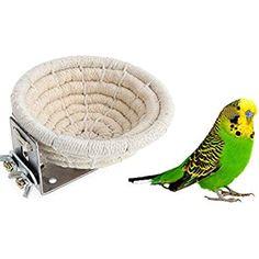 Trustful Bird Nest Breeding Hemp Rope House Home Weave Canary Finch Budgie Handmade Decor Bird Cages & Nests