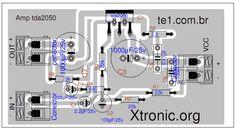 tda2050 bridge amplifier circuit - Google Search