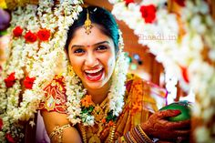 An ecstatic South #Indian #bride