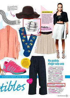 Aparición en la revista Cuore Moda. #moda #modamujer #prensa #joyas #bisuteria #pippajeans #pippaandjeans #revista #periodico #tv
