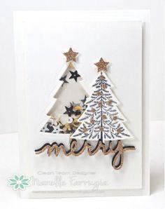 Peaceful Pines, Perfect Pines Framelit Dies, Christmas Greetings Thinlits Dies