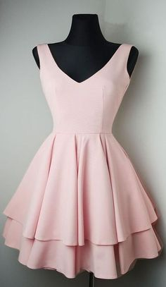 Pink Homecoming Dress,Short Prom Dress,Stain Prom Dress for girls