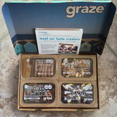 Graze have outdone themselves with my latest box <3