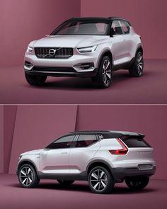 預計2017年量產,Volvo XC40/V40概念車亮相-U-CAR車壇新聞